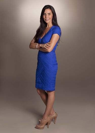 judge Shereen Arazam (photo courtesy of Food Network Canada/Insight Productions)