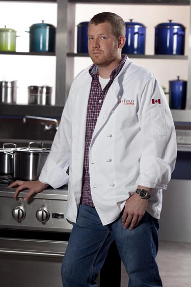 Top Chef Canada – Michael Stauffer (photo courtesy of Food Network Canada/Insight Productions)