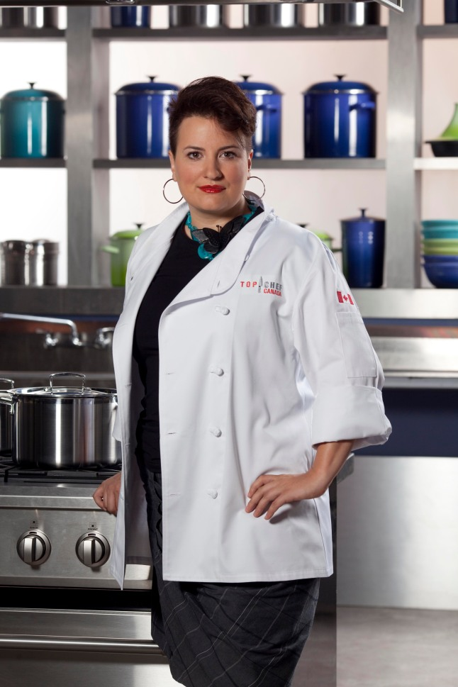 Top Chef Canada – Rebekah Pearse (photo courtesy of Food Network Canada/Insight Productions)