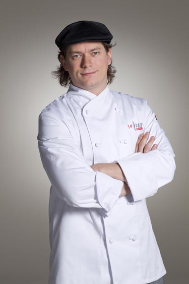 Top Chef Canada - Derek Bocking (photo courtesy of Food Network Canada/Insight Productions)