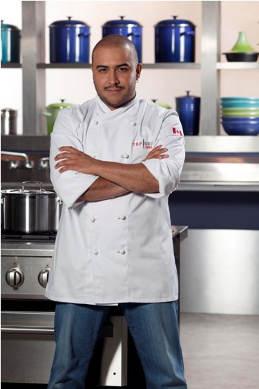Top Chef Canada – Steve Gonzalez (photo courtesy of Food Network Canada/Insight Productions)